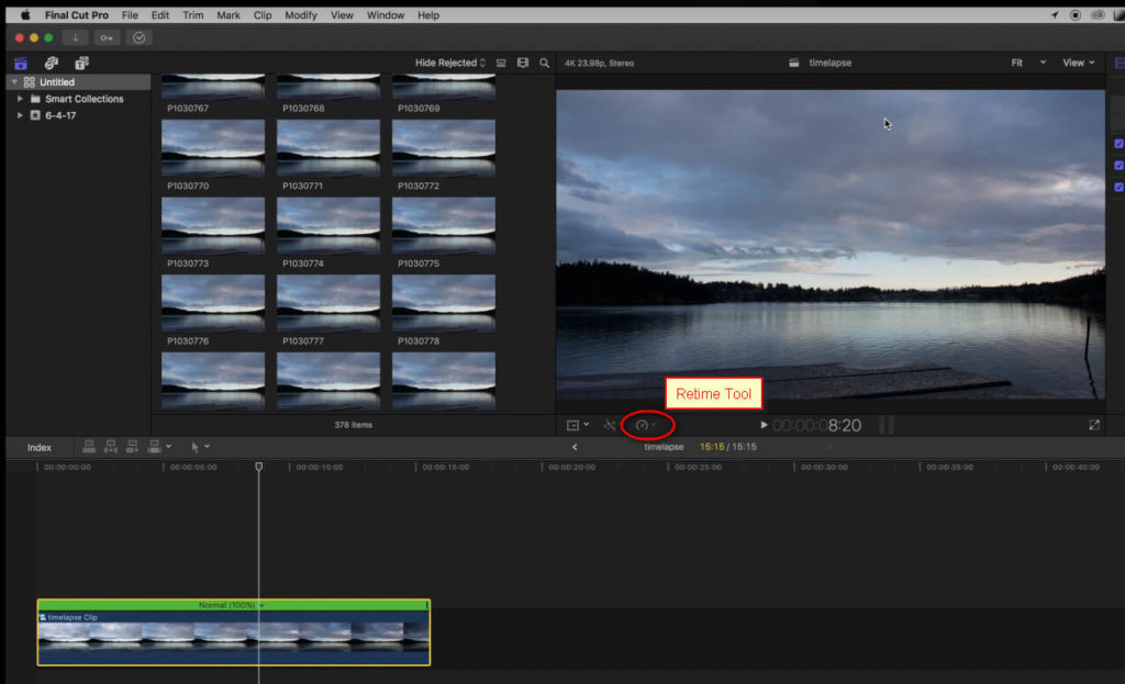 How to Make a Time-lapse Video in Final Cut Pro X | Make a