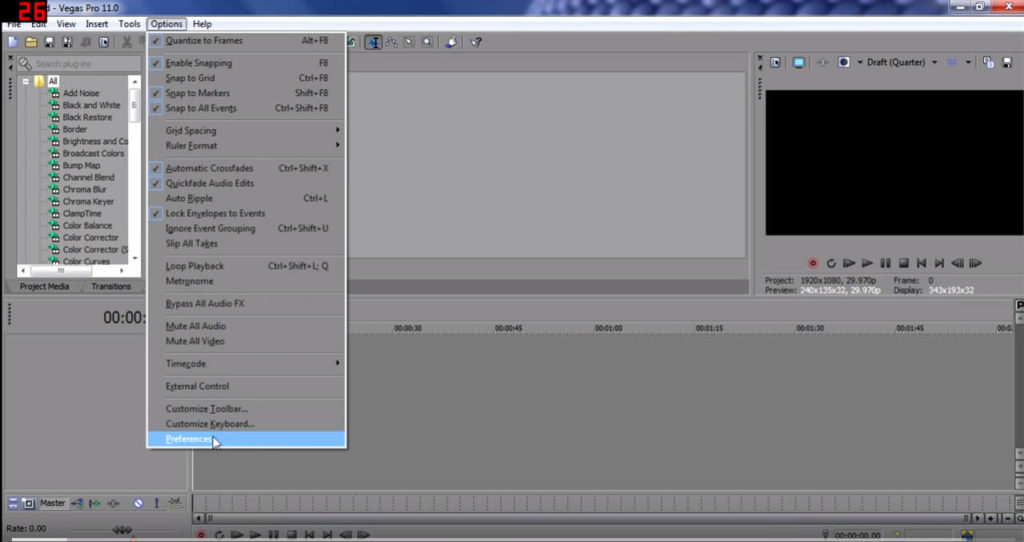 how to cut sony vegas pro 13