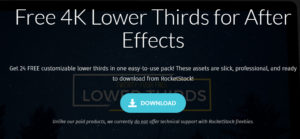 You Can Find 24 Free Customizable Lower Thirds That Be Used For After Effects Here Or Check 15 Animated Premiere